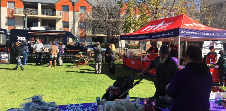 Community BBQ – Homelessness Week 2018